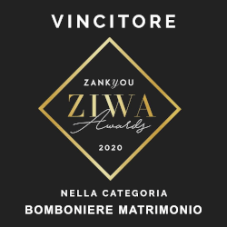 Zankyou International Wedding Awards Bomboniere matrimonio 2020